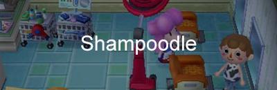 Shampoodle Animal Crossing Pocket Camp Gamea