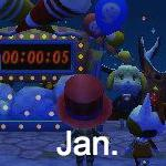 Animal Crossing Pocket January