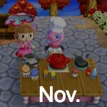 Animal Crossing Pockt Camp November