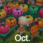 Animal Crossing Pocket Camp October