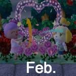 Animal Crossing Pocket February